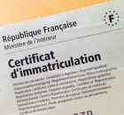 Carte grise - certificat d'immatriculation